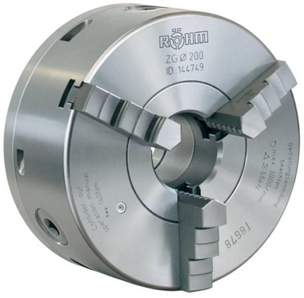 Stahl ZENTRA Dreibackenfutter mit radialer Feineinstellung Backen eint