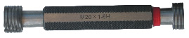 M45 x 2, Gew.-Grenzlehrdorn, rechts, Feingewinde