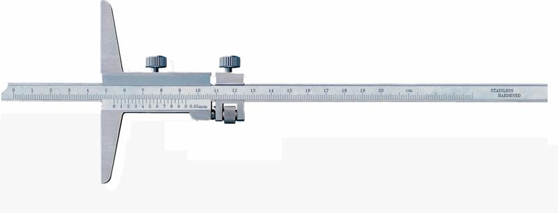 Tiefen-Messschieber C054, 200 mm x 100 mm