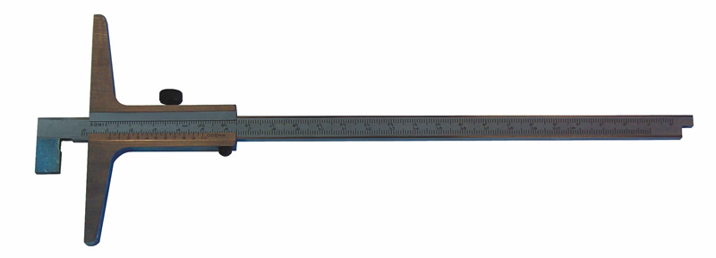 Tiefen-Messschieber mit Haken, umsteckbar C065, 300 mm x 150 mm