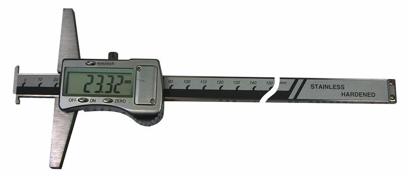 Digital-Tiefen-Messschieber mit Doppelhaken, Messbereich 300 mm