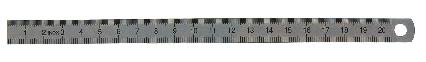 Biegsame Maßstab Typ 453, Messbereich 150 mm