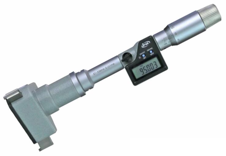 Dig. Dreipunkt-Innen-Messschraube, IP65