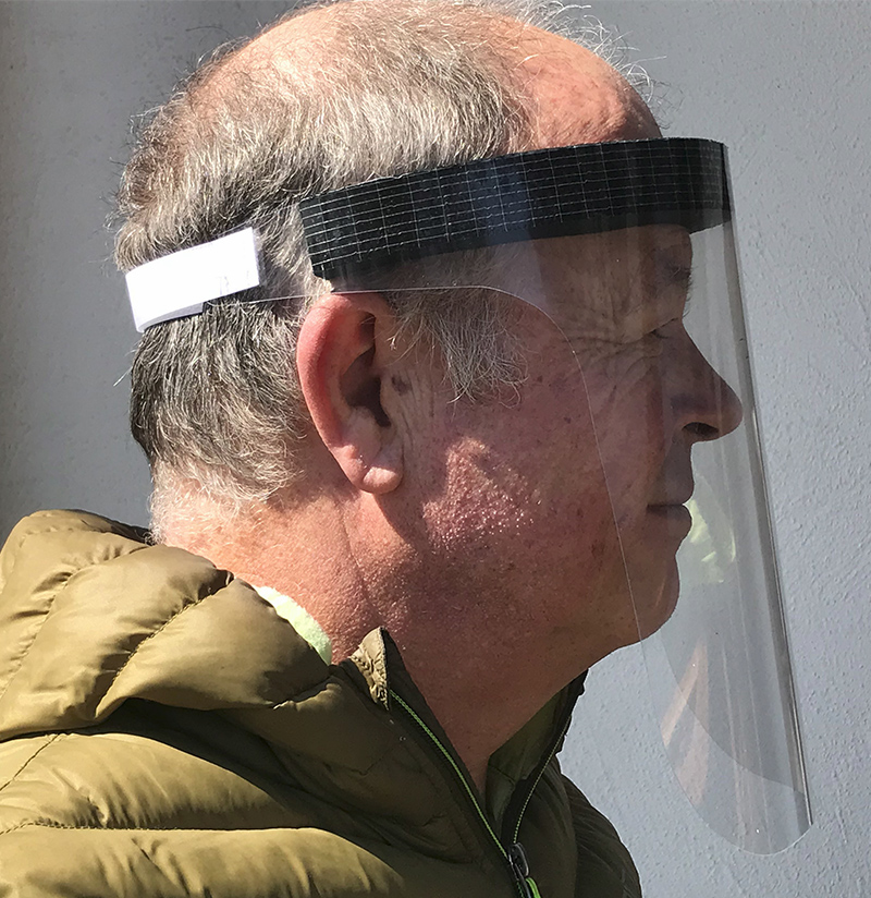 Gesichts-Visiermaske / Face shield