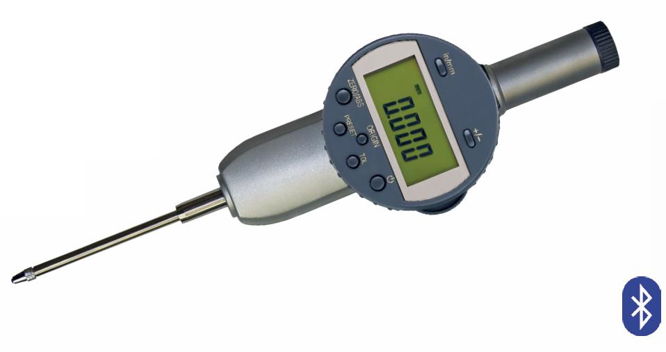 Digitale Messuhr mit PRESET, Ablesung 0,001 mm