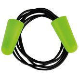 Corded earplugs SOFT-PU, green, Pro-Fit®