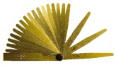 Prcision feeler gauge F8105, 0.03-0.10 mm, 8 pcs. - brass