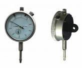 Dial indicator with plug, range 10 mm, reading 0,01 mm