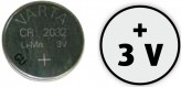 Spare-battery CR 2032