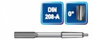 Maschinen-Reibahlen mit  MK-Schaft DIN 208 A HSS